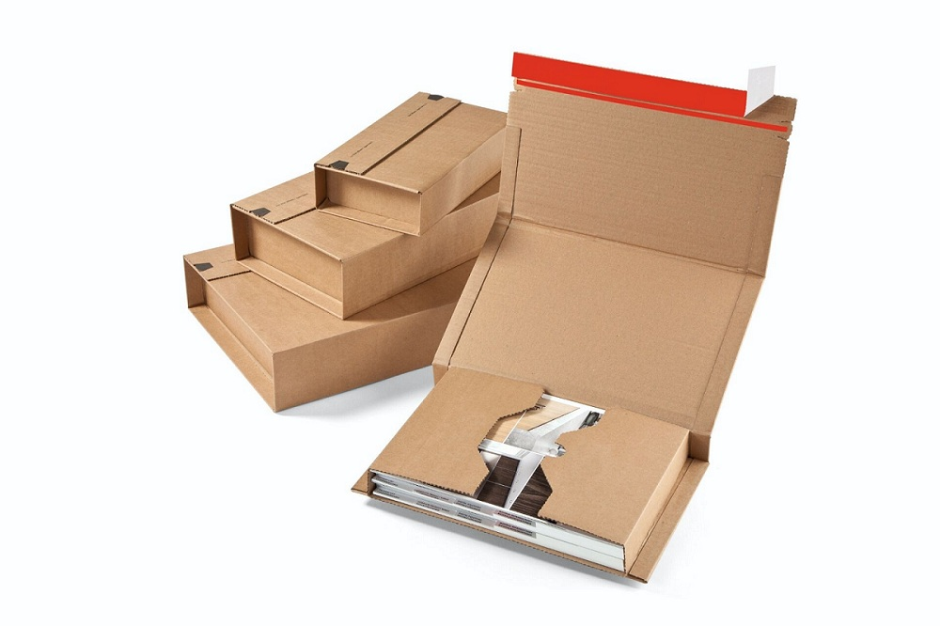 Hot Selling High Quality Corrugated Book Mailer Zipper Boxes With Customized Logo