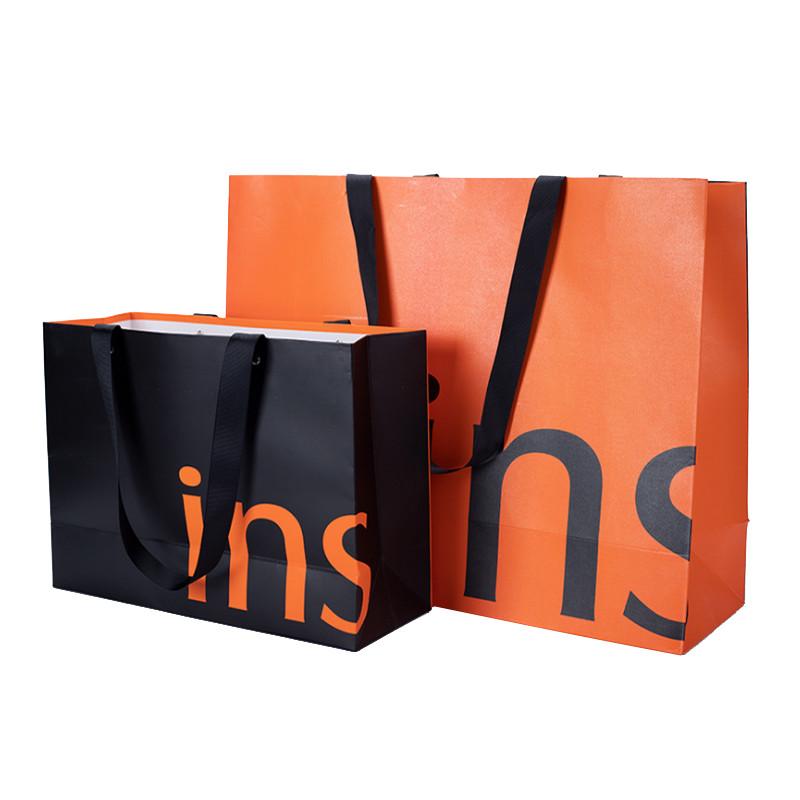 luxury custom print packaging paper bags with logo print
