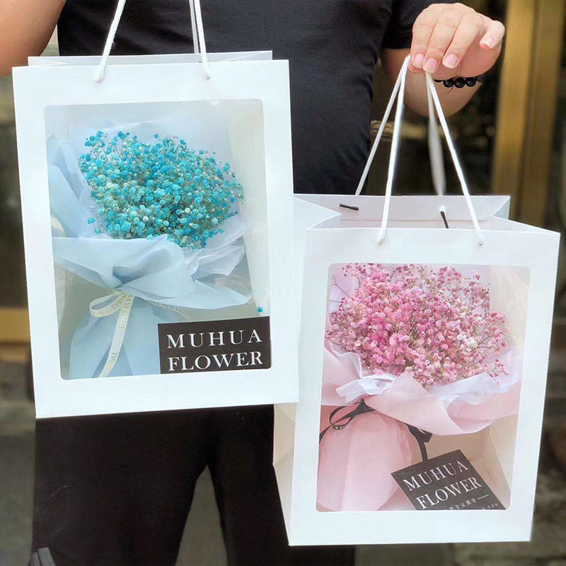 Manufacturers spot direct sales of flowers packaging materials gift bags