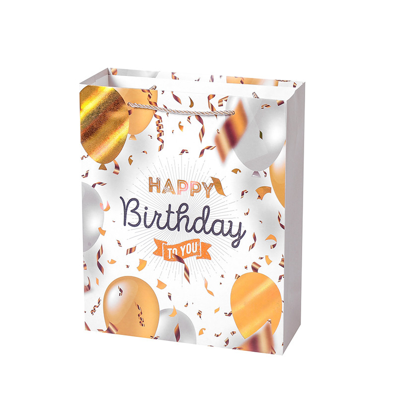 Hot selling Party Holiday Party Tote Bag Birthday Gift Paper Bag Spot