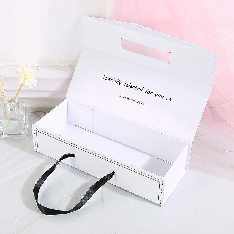 Custom perfume gift box packaging, wig box cosmetic gift box wholesale customization