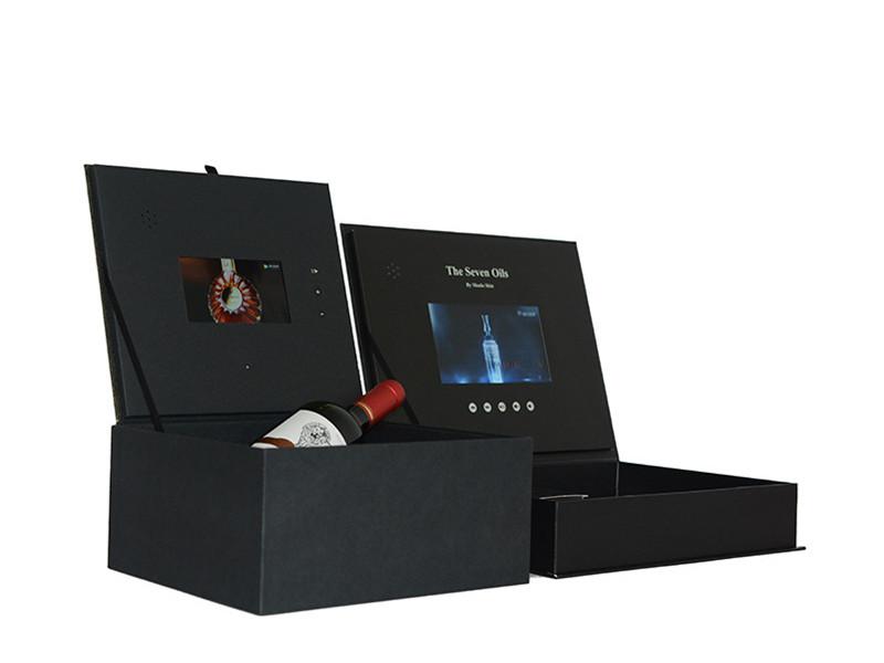 مربع هدية فيديو LCD