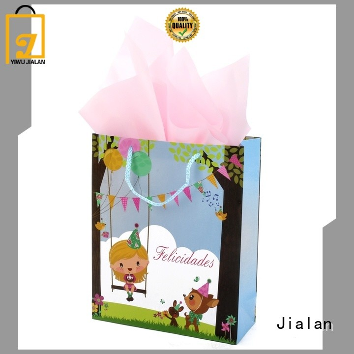 Jialan gift bags satisfying for holiday gifts packing