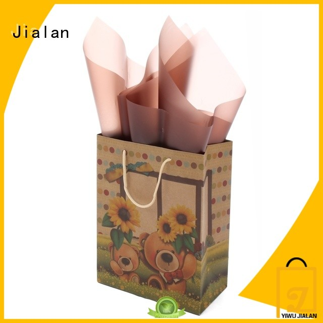 Jialan paper kraft bags great for clothing stores
