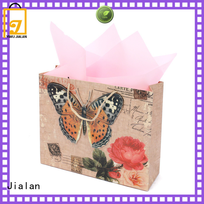 Jialan hot selling gift wrap bags excellent for gift shops