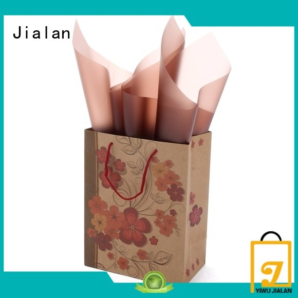 Jialan personalized paper bags packing birthday gifts