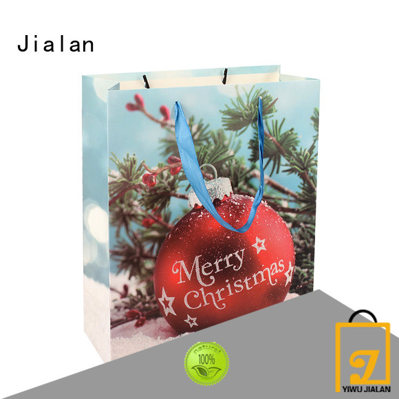 Jialan good quality personalized paper bags optimal for holiday gifts packing
