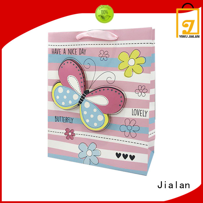 Jialan paper gift bags satisfying for holiday gifts packing