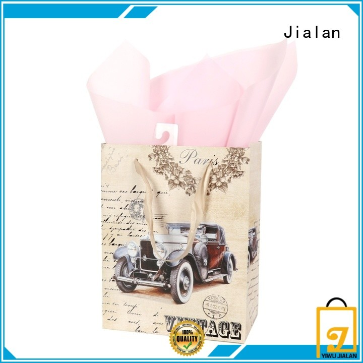 Jialan professional personalized paper bags optimal for packing gifts