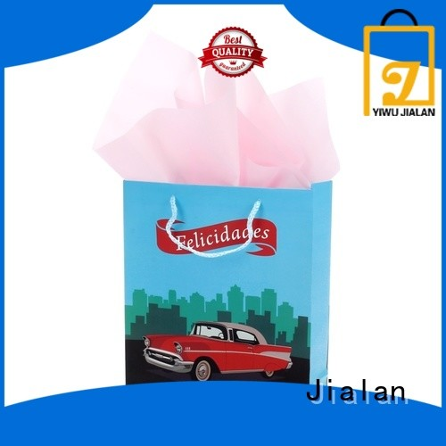 Jialan Eco-Friendly personalized gift bags widely employed for holiday gifts packing