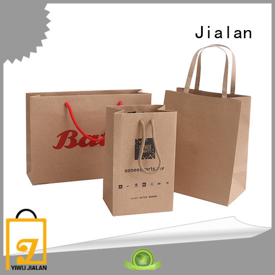 Jialan craft paper bags optimal for clothing stores