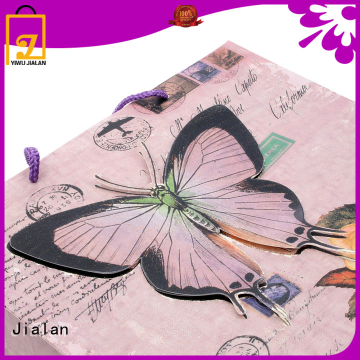 Jialan gift wrap bags popular for holiday gifts packing