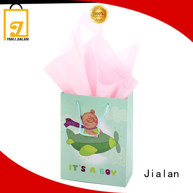 Jialan hot selling gift wrap bags excellent for holiday gifts packing