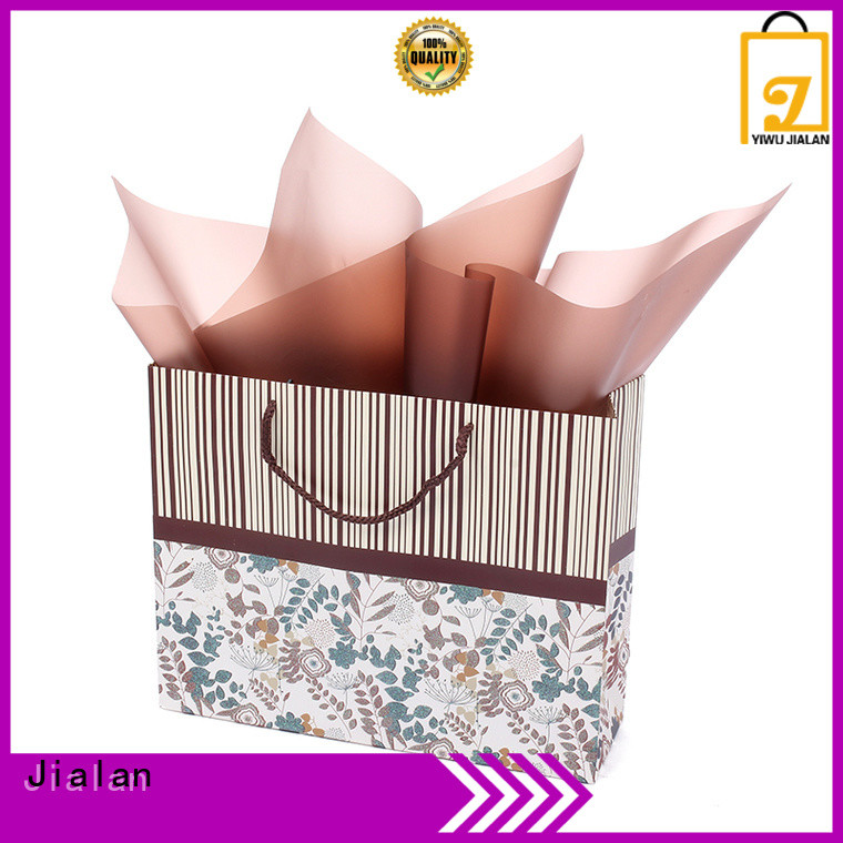 Jialan paper gift bags perfect for packing gifts
