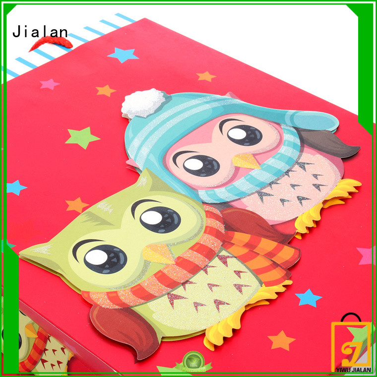 Jialan high performance gift wrap bags holiday gifts packing