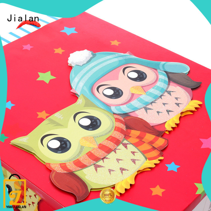 Jialan gift wrap bags best choice for gift stores