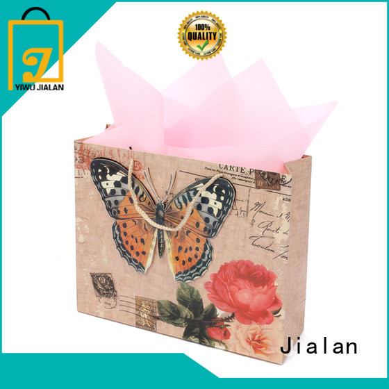 Jialan gift wrap bags best choice for gift shops