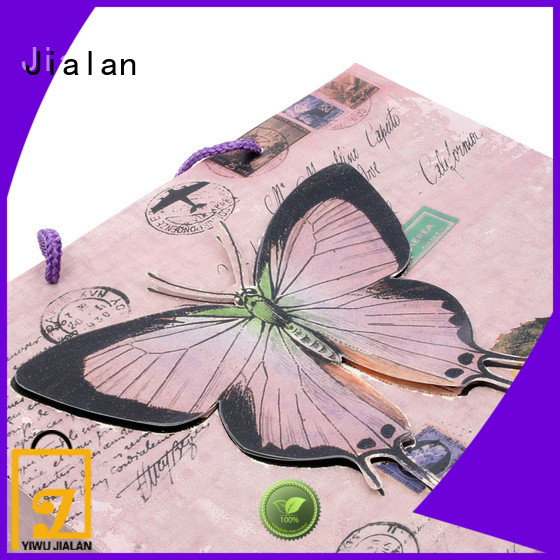 Jialan gift wrap bags suitable for holiday gifts packing