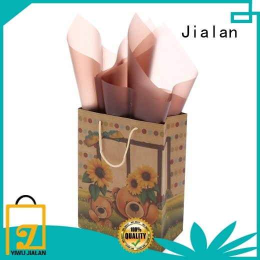 Jialan craft paper bags great for clothing stores