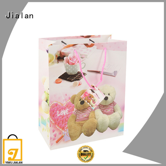 Jialan personalized paper bags optimal for holiday gifts packing