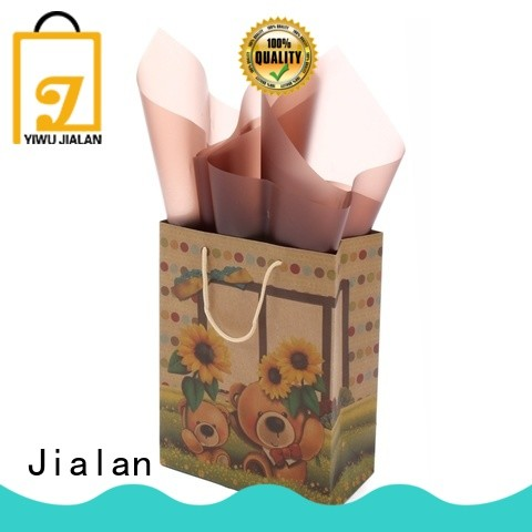 Jialan kraft gift bags perfect for special festival gift packaging