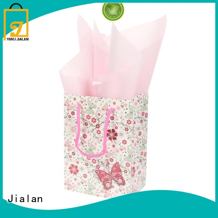 Jialan Eco-Friendly personalized paper bags holiday gifts packing