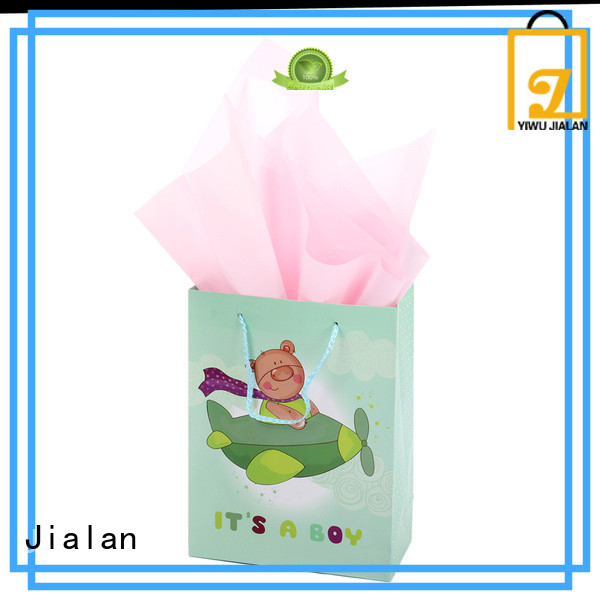 Jialan high performance gift wrap bags popular for packing birthday gifts
