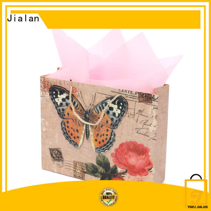 Jialan customized gift wrap bags excellent for gift shops