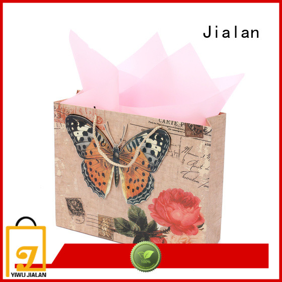 Jialan hot selling gift wrap bags best choice for gift stores