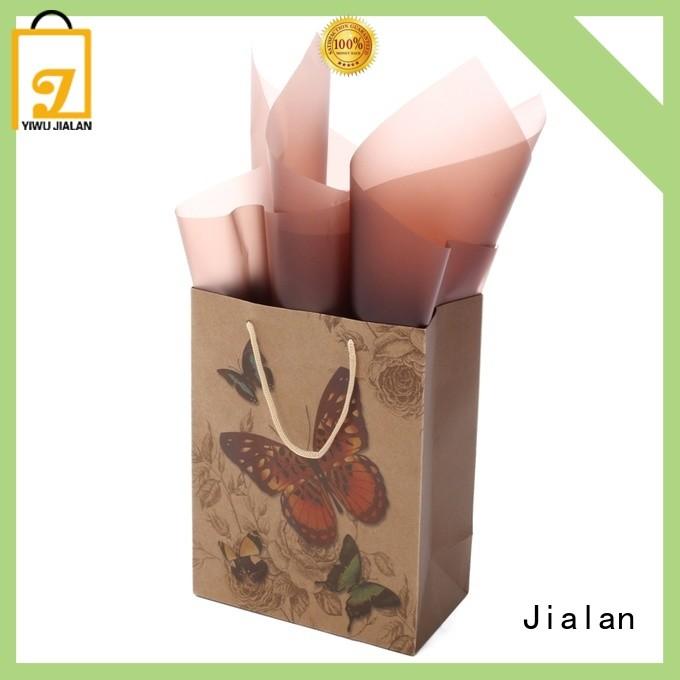 Jialan kraft paper bags ideal for gift loading