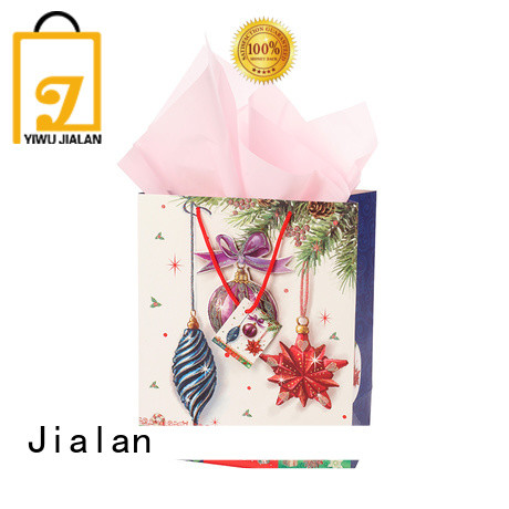 Jialan cost saving personalized paper bags ideal for packing gifts
