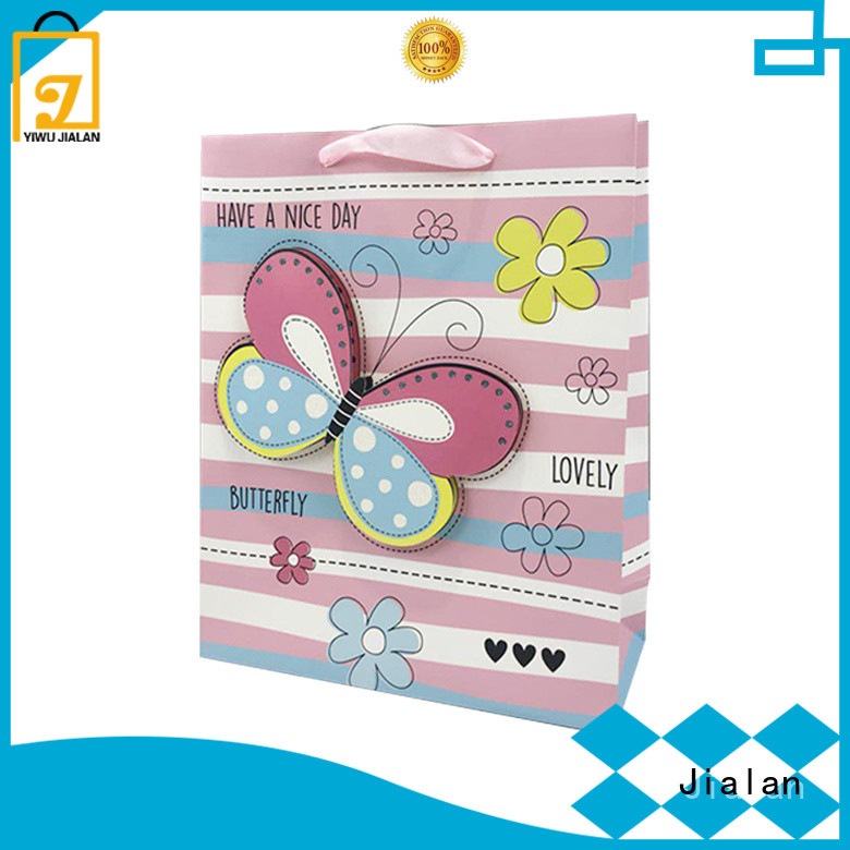 paper gift bags satisfying for packing gifts Jialan