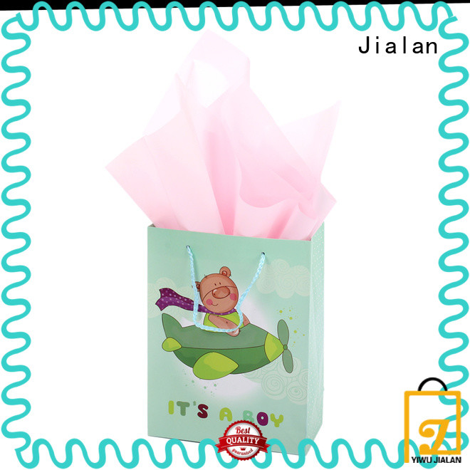 Jialan customized gift wrap bags suitable for gift shops