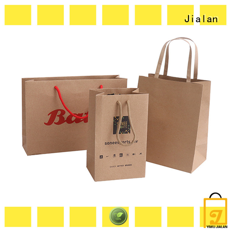 Jialan hot selling paper bag great for shoe stores