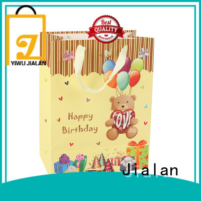 Jialan paper gift bags packing birthday gifts