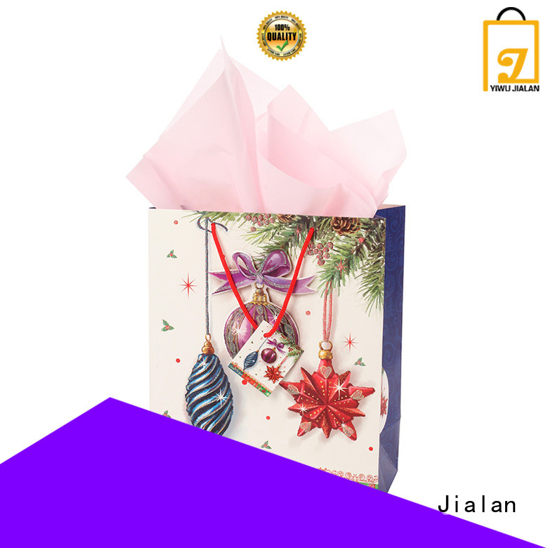 paper gift bags satisfying for holiday gifts packing Jialan