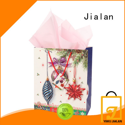 good quality personalized paper bags perfect for holiday gifts packing