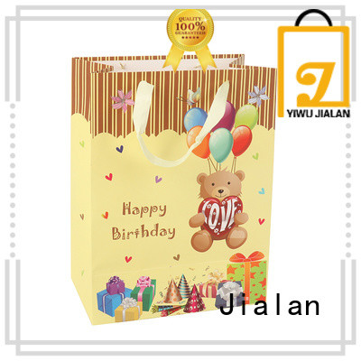 Jialan Eco-Friendly paper gift bags satisfying for packing birthday gifts