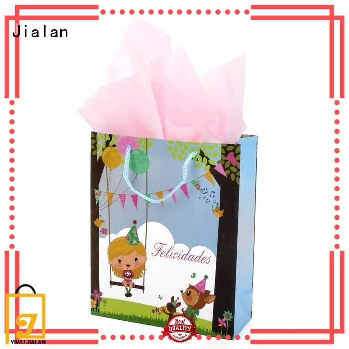 Jialan paper gift bags great for packing birthday gifts