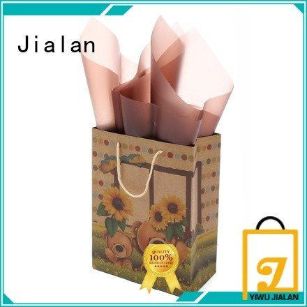 Jialan good quality paper bag perfect for gift loading