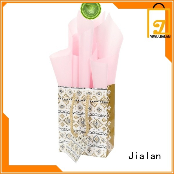 Jialan cost saving personalized paper bags very useful for packing gifts