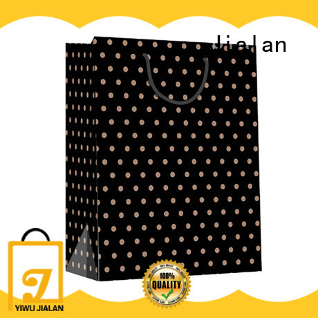 Jialan high grade kraft paper bags optimal for gift loading