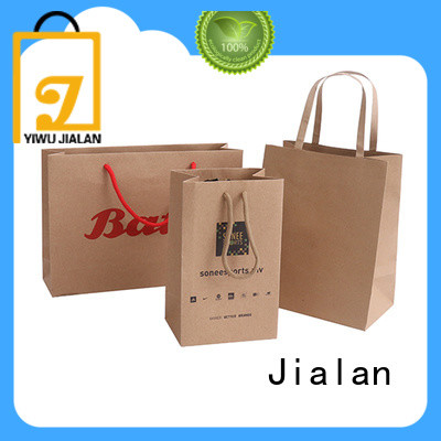 Jialan kraft paper bags optimal for clothing stores