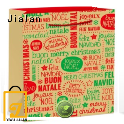 Jialan hot selling gift wrap bags excellent for gift stores