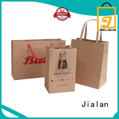 Jialan paper bag great for shopping malls