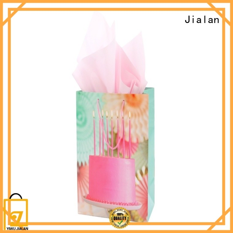 Jialan various personalized paper bags packing birthday gifts