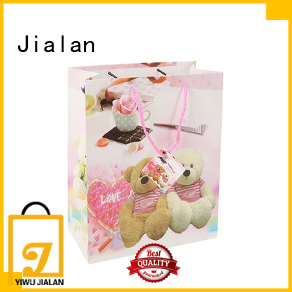 personalized paper bags optimal for packing birthday gifts Jialan