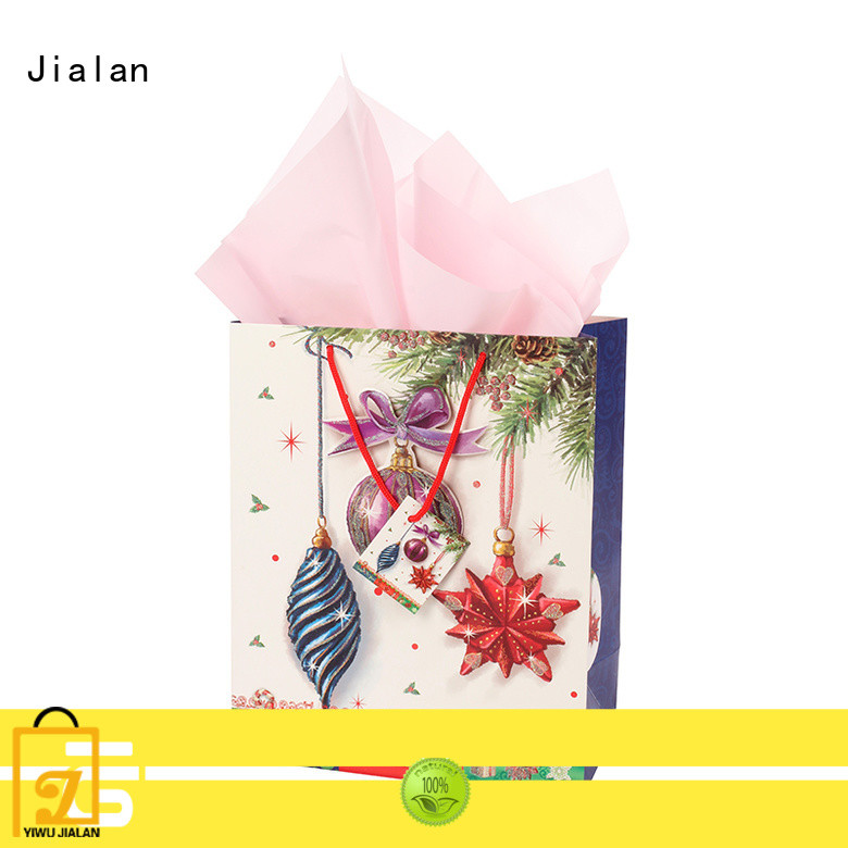 Jialan professional personalized paper bags satisfying for packing gifts