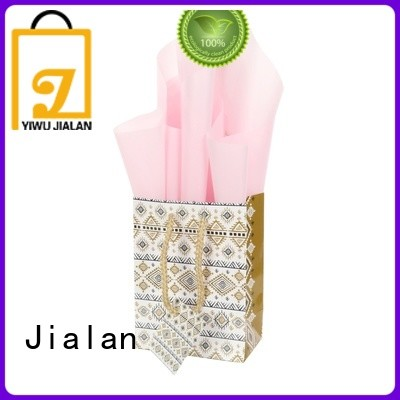 Jialan paper bags wholesale widely employed for packing gifts