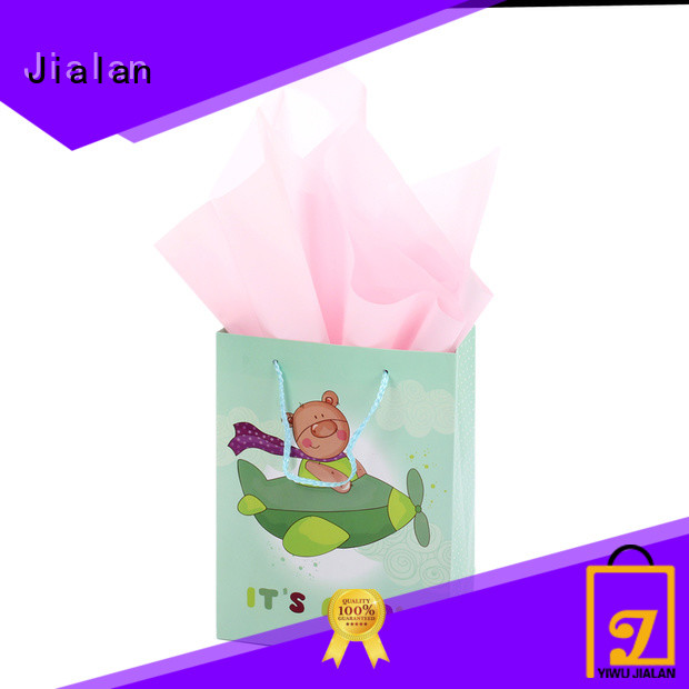 Jialan high performance gift wrap bags suitable for holiday gifts packing